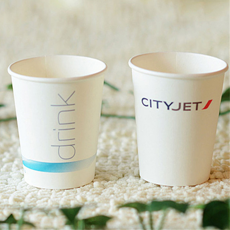 Customized Printed Insulated Disposable Takeout 12oz Paper Coffee Cups With Lids And Sleeves For Hot Drink