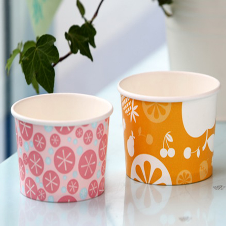 user-friendly ice cream paper cup roll disposable cup stock paper
