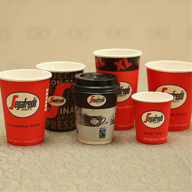 Chinese Factory High Quality 10 oz 12 oz 14 oz Coffee Vending Machine Cups
