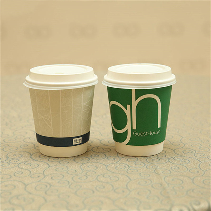 Hot selling paper coffee cup double wall paper cup