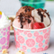 Customized Print Colorful Disposable Yogurt Ice Cream Paper Bowl