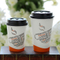 Takeout Disposable Hot Paper Coffee Cup Holder Paper Cup