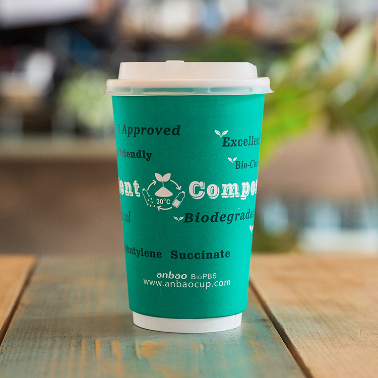 High Quality BioPBS Compostable paper cups wholesale