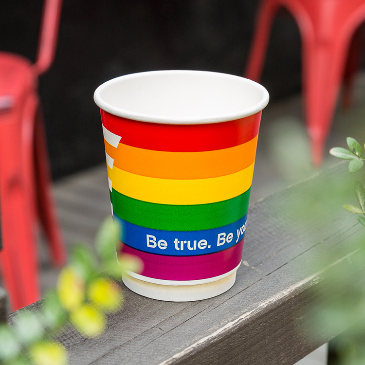 2019 Wholesale Coffee Cup Eco-Friendly Drinking Cup Disposable Custom Paper Cup