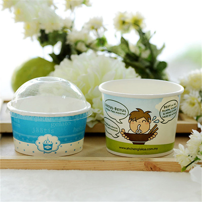 wholesale good quality ice cream container size with good price