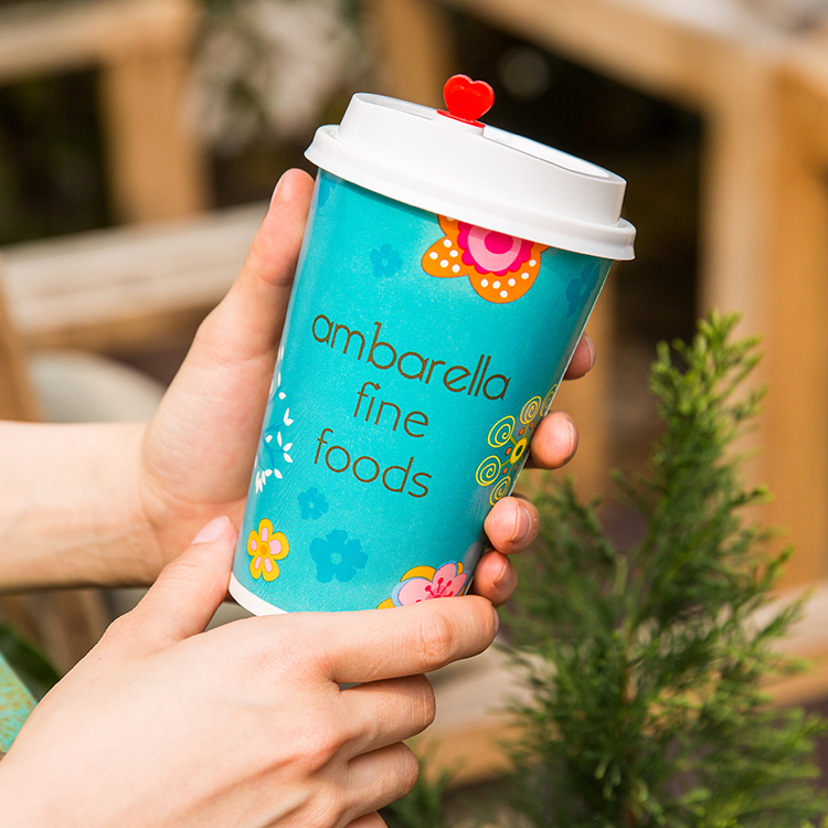 Wholesale Eco Friendly Biodegradable 7.5oz 8oz Compostable Vending Paper Cup