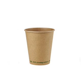 FSC Bamboo Recyclable Disposable Paper Cup Home compost